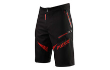 Fox Demo Freeride Bike Shorts rood/zwart